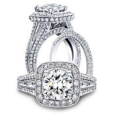 Engagement ring,Wedding Band