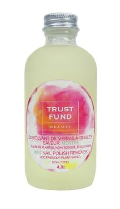 Trust Fund Beauty: Nail Polish Remover $22.00, available at Trust Fund Beauty.
