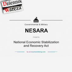 Krajowa ustawa o stabilizacji i ożywieniu gospodarczym Acting, Convenience Store, Convinience Store