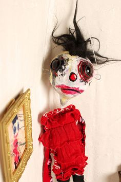 Art Doll Class Tutorial  how to make step by step by crudeart, $45.00 .... pretty please :)