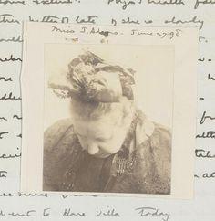 Wellcome Library | Holloway Sanatorium : Miss J Adams, 1890