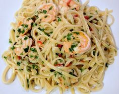 Well Worn Whisk: a blog about family food & country living : Prawn linguine with chilli and garlic