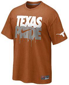 Texas Longhorns School Pride Orange T Shirt by Nike $19.95