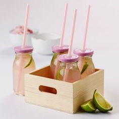 Sodacreme Milk Bottles with Straws LOVE these as a Christmas Gift idea or also great for kids parties $24.95 https://www.everythingbutflowers.com.au/christmas/women/sodacreme-bottles
