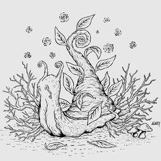 Snail Tattoo