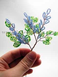 Pin by Myna Joyner on Beaded Christmas Trees Seed Bead Flowers, French Beaded Flowers, Wire Flowers, Victorian Flowers, Paper Flowers, Beaded Flowers Patterns, Beading Patterns Free, Wire Crafts, Bead Crafts