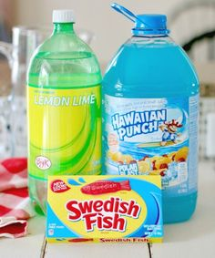 Ocean Water Punch recipe from The Country Cook More from my siteOcean Water Blue PunchBlue Ocean Water Party Punch RecipeBlue Party Punch (Ocean Water) Copycat Sonic Ocean WaterOcean Water ~ Sonic copycat drink recipe. Such fun for kids at summer parties! Taco Bar, 2nd Birthday Parties, Birthday Ideas, Luau Birthday, Water Birthday Themes, 10th Birthday, Kendall Birthday, Birthday Party Drinks, Bubble Guppies Birthday