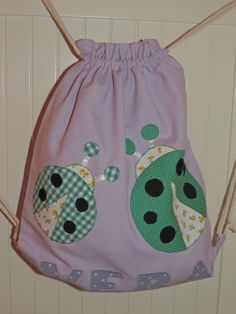 Bolsas de tela con motivos patchwork