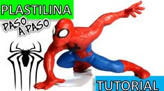 Como hacer a Spiderman/Hombre araña  de Plastilina / How to make a Spiderman with clay - YouTube