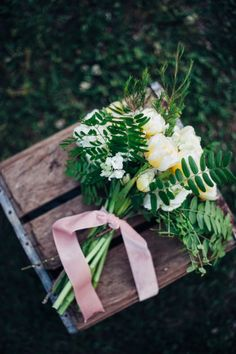 DIY // Hand Tied Bouquet for Mother's Day by Goldmine