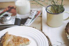 Receta quiche bacón y cebolla caramelizado : via MIBLOG