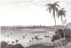 The oldest possible Engraving of the Port of Bombay ( 1790 - 1815) by J. Stephenson ; this a scanned copy from a book which was published in 1836. Photo from Glenn Remedios's post in VASAI LIVE (group on facebook.com)  on 5/07/2013