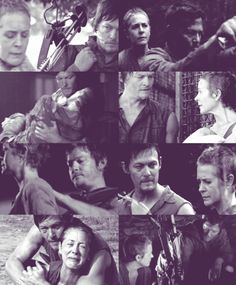 Daryl & Carol - The Walking Dead