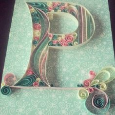 P quilled