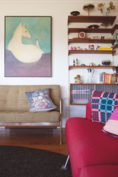 A Designer's Colorful, Crafty Australian Home (With Amazing Views!)