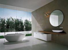 Casa de banho moderna minimalista :: Fotos e imagens