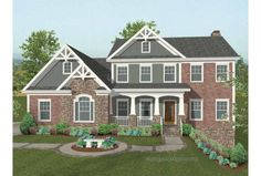 Eplans Craftsman House Plan - Stunning Hillside Home - 2493 Square Feet and 4 Bedrooms(s) from Eplans - House Plan Code HWEPL66091