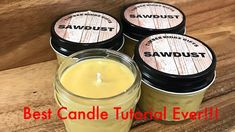 Great Free Soy Candles to buy Strategies Perfumed soy candles are generally created by employing scented soy soy wax that is a hydrogenated s Buy Candles, Soy Wax Candles, Candle Wax, Candle Making For Beginners, Candle Making Business, Candle Making Supplies, Candlemaking, Youtube Youtube, How To Make