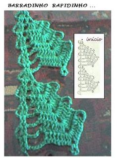 Enfeite Natalino em Crochê.  /  Ornament Natalino Crochet.