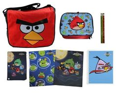 Angry Birds Messenger Bag & ULTIMATE Back to School Set includes Lunch Tote, Folders, Spiral, Pencils and More by Ultimate Back To School Sets. $39.95. Click on the Ultimate Back to School Sets link above to see similar back to school items available for sale!. This limited edition Angry Birds Messenger Bag & ULTIMATE Back to School Set includes Lunch Tote, Folders, Spiral, Pencils, and Pencil Case. On to the next level. Your little gamer will enjoy this fuzzy messenger bag as...