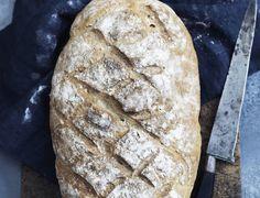 Nem opskrift på brød med havregryn Danish Food, Crockpot, Snack Recipes, Food And Drink, Yummy Food, Baking, Cake, Desserts, Flutes