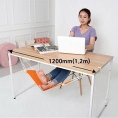 Cheap Portatile Mini Ufficio Resto Del Piede Stand Desk Piedi Amaca facile da…