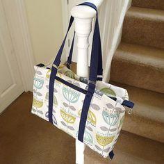 Sewing Zippers in Bags Tutorial 1. (aka Zippered inner bag pocket) - U-handblog