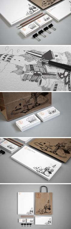 Traditional #illustration #identity #packaging PD
