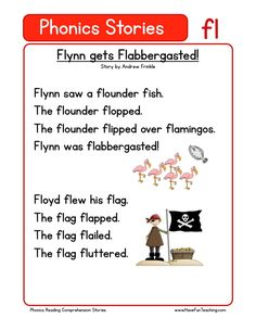 This Reading Comprehension Worksheet - Flynn gets Flabbergasted! is for teaching…