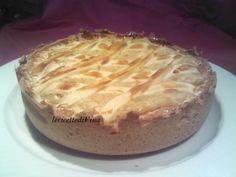 torta di riso con crema