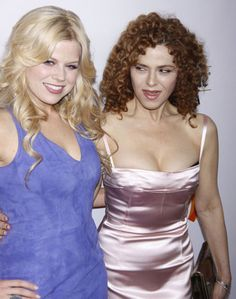 If Bernadette Peters looked any better for her age she'd be my age. That is some nice body, girl!