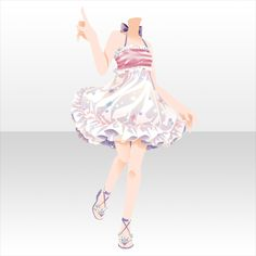 Delight the StarlitSky|@games -アットゲームズ- Cosplay Outfits, Anime Outfits, Cool Outfits, Manga Clothes, Drawing Clothes, Fashion Design Drawings, Fashion Sketches, Anime Dress, Star Girl