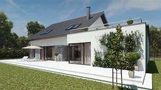 kuchnia13,44 Home Remodeling, House Plans, Garage Doors, Exterior, House Design, Outdoor Decor, Modern, Home Decor, Houses