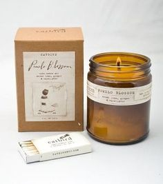 Pomelo Blossom Candle....I'm not sure what it is, but it sounds interesting.