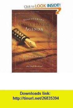 Discovering Gods Daily Agenda (9781404104051) Henry T. Blackaby, Richard Blackaby , ISBN-10: 1404104054  , ISBN-13: 978-1404104051 ,  , tutorials , pdf , ebook , torrent , downloads , rapidshare , filesonic , hotfile , megaupload , fileserve