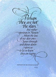 Perhaps ~::~ Judy Dodds, Penscriptions Calligraphy