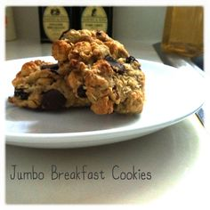 Jumbo Breakfast Cookies sound fab!