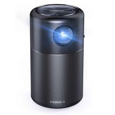 The Anker Nebula Capsule Smart Wi-Fi Mini Projector is a Small Yet Powerful Projector! #miniprojector #smartprojector #projectors Home Gadgets, Gadgets And Gizmos, Projectors, Wi Fi, Usb
