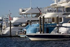 yachts at bannister's wharf by beckstei, via Flickr
