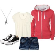 Casual and Cute, no converse though. either vans or toms for me