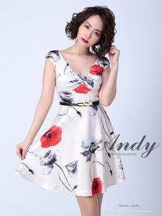c4ec65d71ab43  Andy AN-OK1693 ワンピース(アンディドレス Andyドレス フレアードレス 花柄
