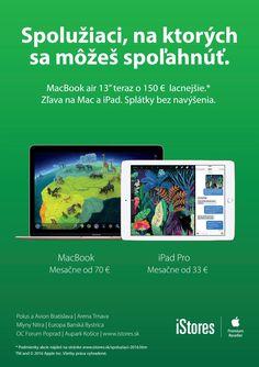Spolužiaci Bratislava, Macbook Air 13, Ipad Pro
