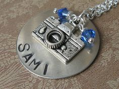 Handstamped Necklace for Photographers!