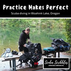 Practice Makes Perfect by Candice Landau | Scuba Scribbles #scubadiving