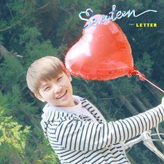 [SEVENTEEN NEWS] #SEVENTEEN FIRST ALBUM 'LOVE&LETTER' 20160425  PHOTO FIRST #LETTER #WOOZI #우지