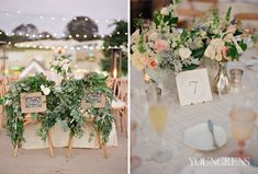 LAuberge Del Mar Wedding, Photography by The Youngrens  right table display