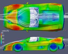 "Richardson CFDさんのツイート: ""#Ferrari F50 aerodynamics #UFOCFD freeware, 4M cell mesh, 48 hour solve time, @sketchup geometry…"