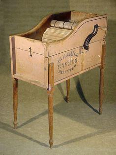 antique washing machines | ANTIQUE FAIRCHILD WASHER WASHING MACHINE PAT MAY 3 1887