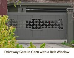 Lattice Six has so many beautiful options you must check out the site! Driveway Gate, Fence Gate, Fences, Screen Plants, Lattice Design, Garden Fencing, Gate Design, Steel Doors, Curb Appeal