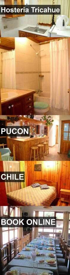 Hotel Hosteria Tricahue in Pucon, Chile. For more information, photos, reviews and best prices please follow the link. #Chile #Pucon #travel #vacation #hotel